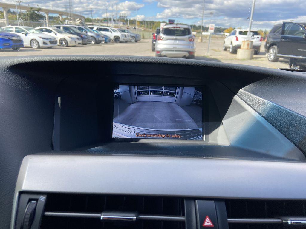 2015 Lexus RX 350 Sportdesign Backup Camera Closeup Photo in Calgary AB