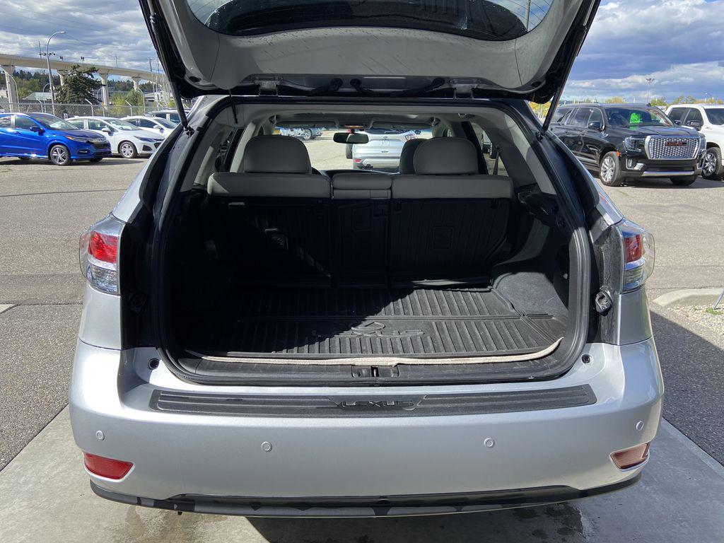 2015 Lexus RX 350 Sportdesign Trunk / Cargo Area Photo in Calgary AB