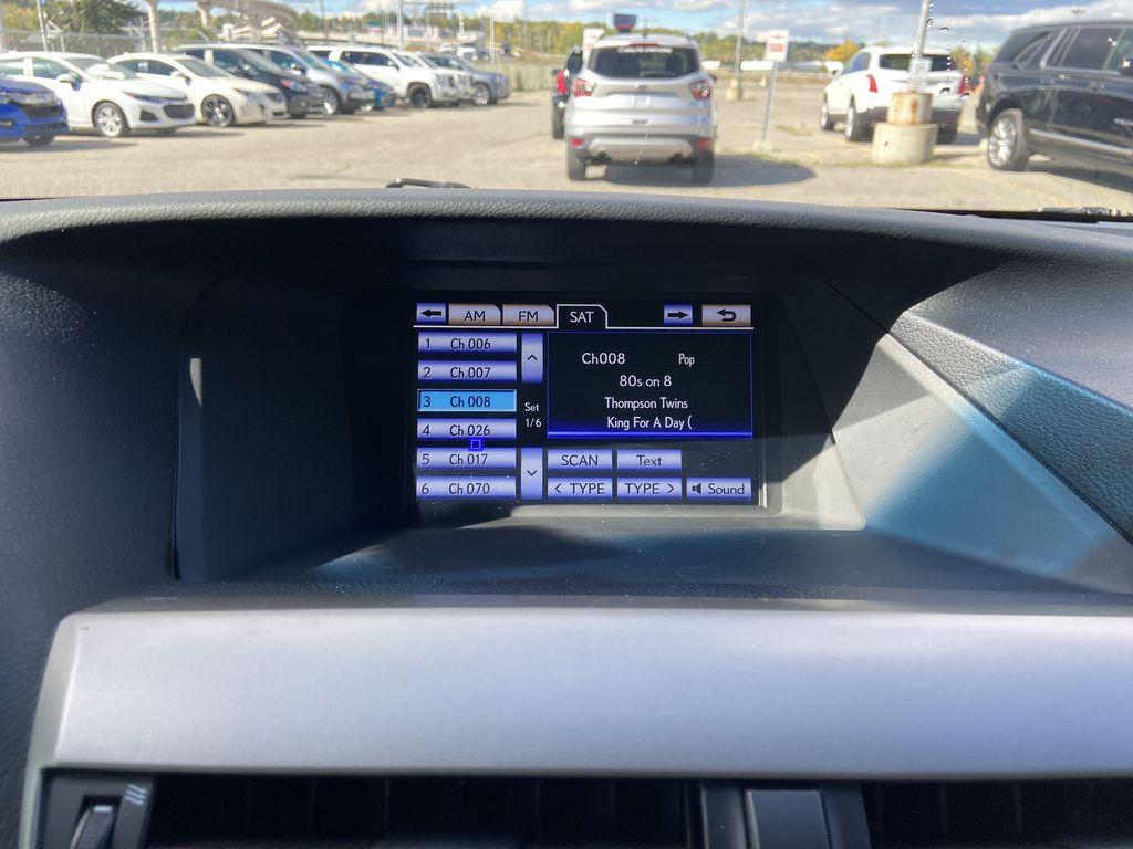 2015 Lexus RX 350 Sportdesign Radio Controls Closeup Photo in Calgary AB