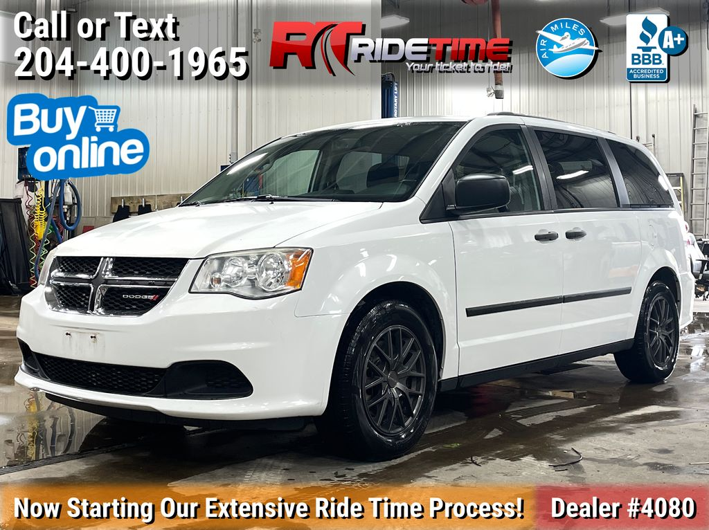 White[Bright White Clearcoat] 2014 Dodge Grand Caravan SE - Tri-Zone Climate Control, Alloy Wheels
