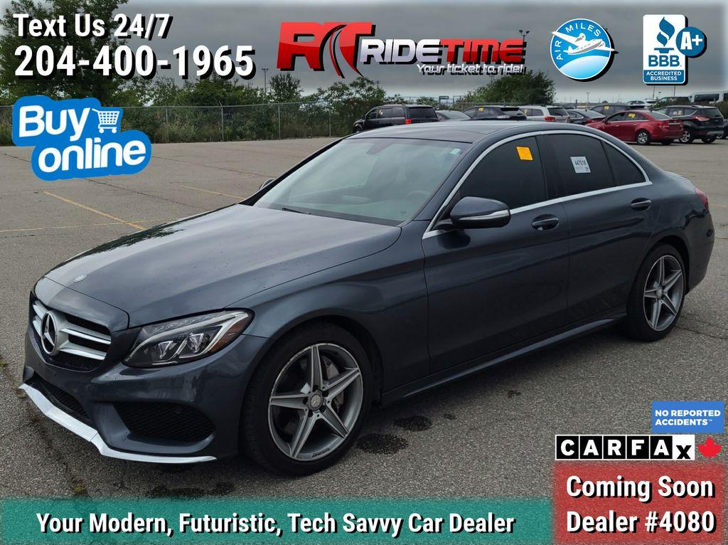 Gray[Tenorite Grey Metallic] 2015 Mercedes-Benz C-Class C 300 4MATIC - AMG Styling Package