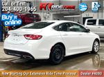 White[Bright White] 2015 Chrysler 200 C - Leather, Panoramic Roof, 8.4in Uconnect Right Rear Corner Photo in Winnipeg MB
