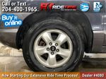 Silver[Arctic Silver Metallic] 2006 Hyundai Santa Fe Left Front Rim and Tire Photo in Winnipeg MB