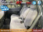 Silver[Arctic Silver Metallic] 2006 Hyundai Santa Fe Left Side Rear Seat  Photo in Winnipeg MB