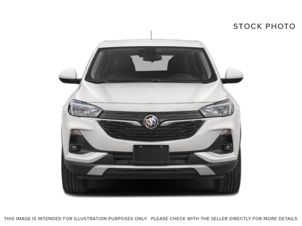 White[White Frost Tricoat] 2022 Buick Encore GX Front Vehicle Photo in Edmonton AB