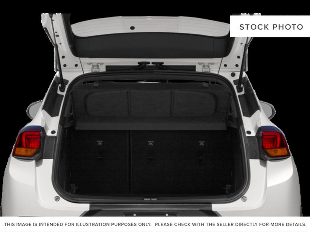 White[White Frost Tricoat] 2022 Buick Encore GX Trunk / Cargo Area Photo in Edmonton AB
