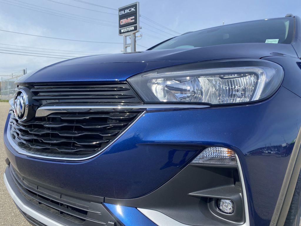 Blue[Sapphire Metallic] 2022 Buick Encore GX Left Front Head Light / Bumper and Grill in Edmonton AB