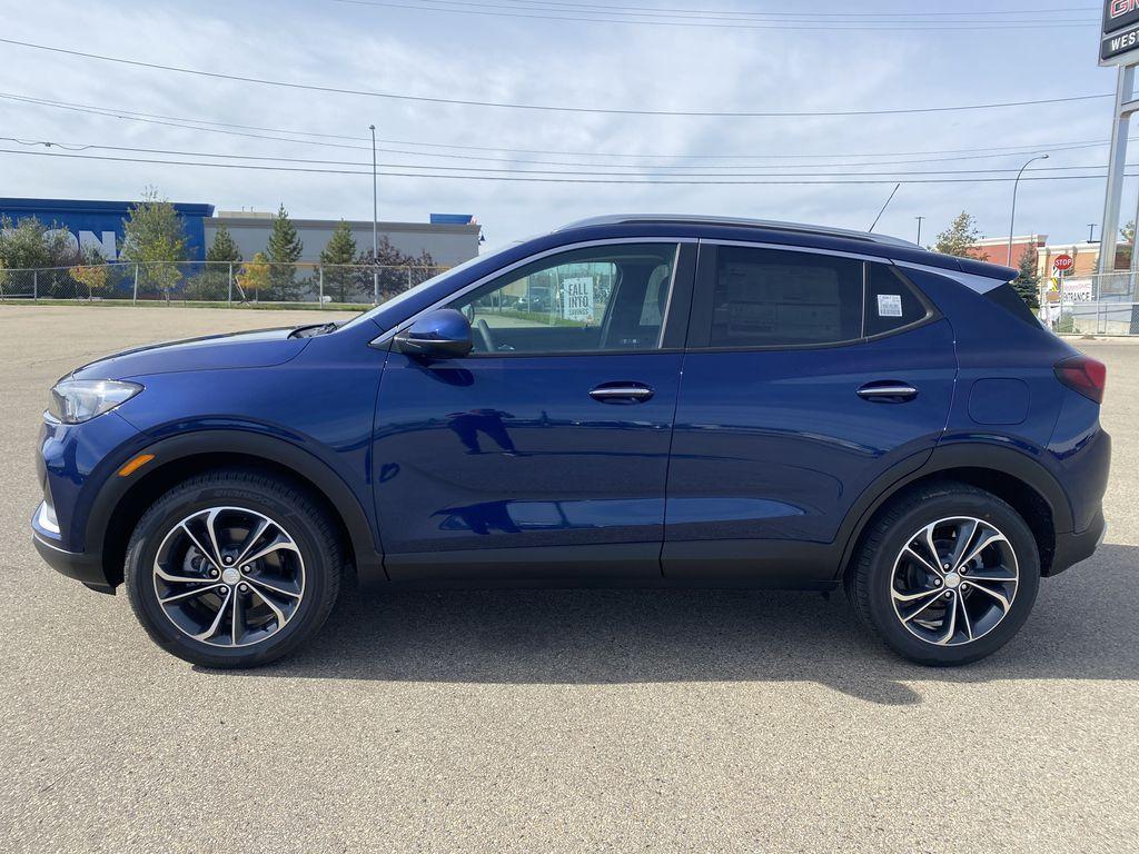 Blue[Sapphire Metallic] 2022 Buick Encore GX Left Side Photo in Edmonton AB