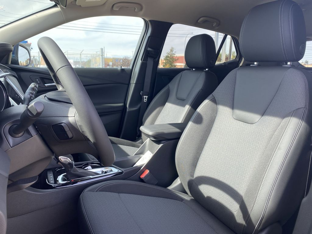 Blue[Sapphire Metallic] 2022 Buick Encore GX Left Front Interior Photo in Edmonton AB