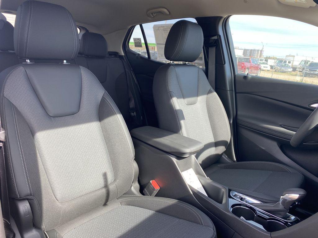 Blue[Sapphire Metallic] 2022 Buick Encore GX Right Side Front Seat  Photo in Edmonton AB