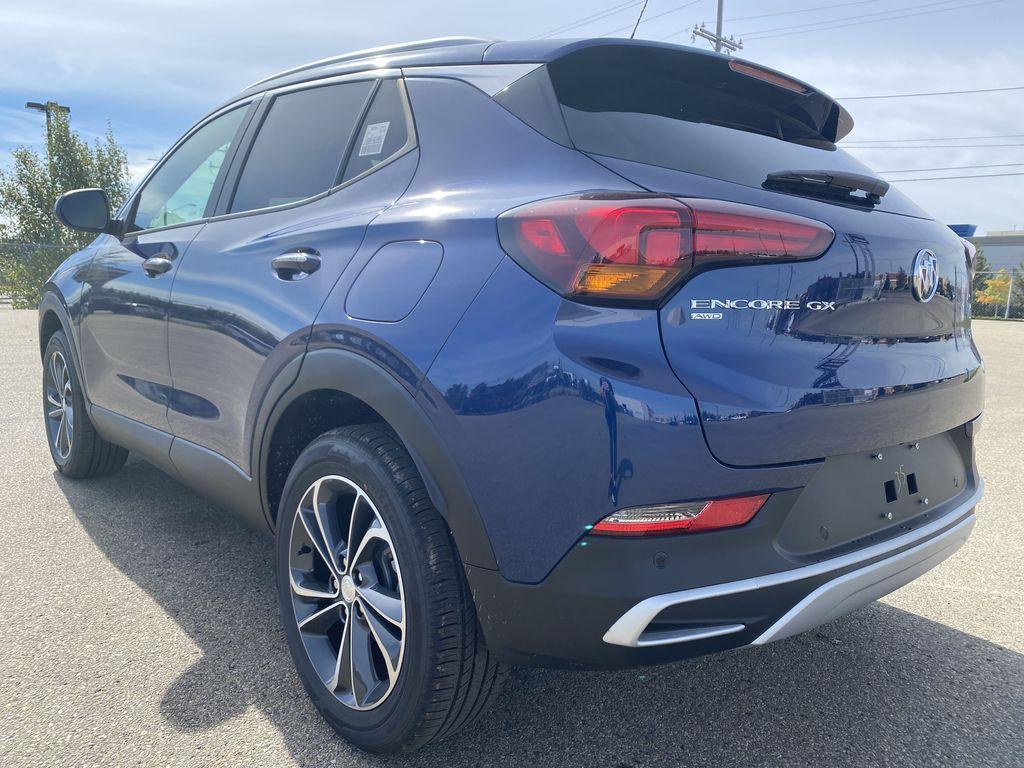Blue[Sapphire Metallic] 2022 Buick Encore GX Left Rear Corner Photo in Edmonton AB