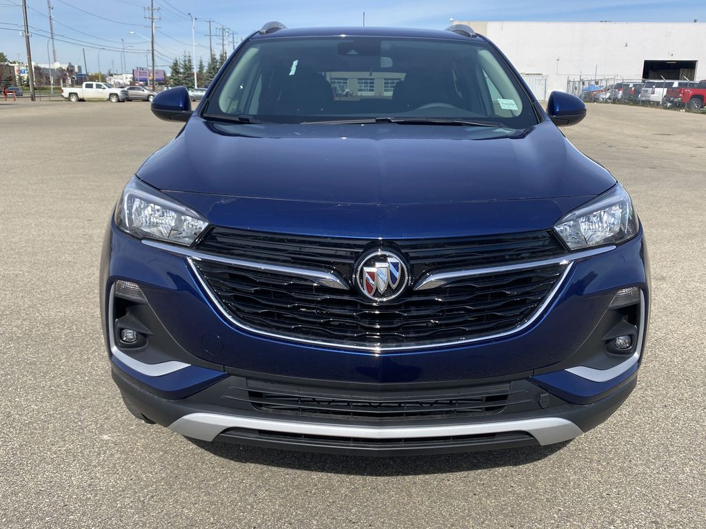 Blue[Sapphire Metallic] 2022 Buick Encore GX Front Vehicle Photo in Edmonton AB