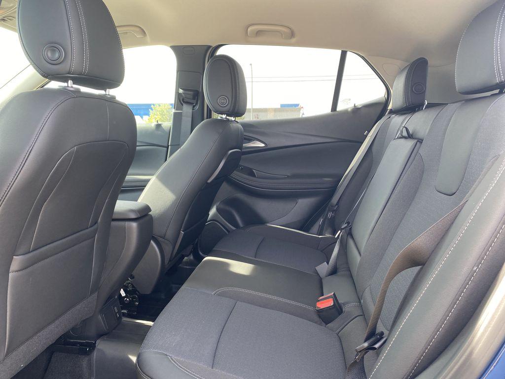 Blue[Sapphire Metallic] 2022 Buick Encore GX Left Side Rear Seat  Photo in Edmonton AB