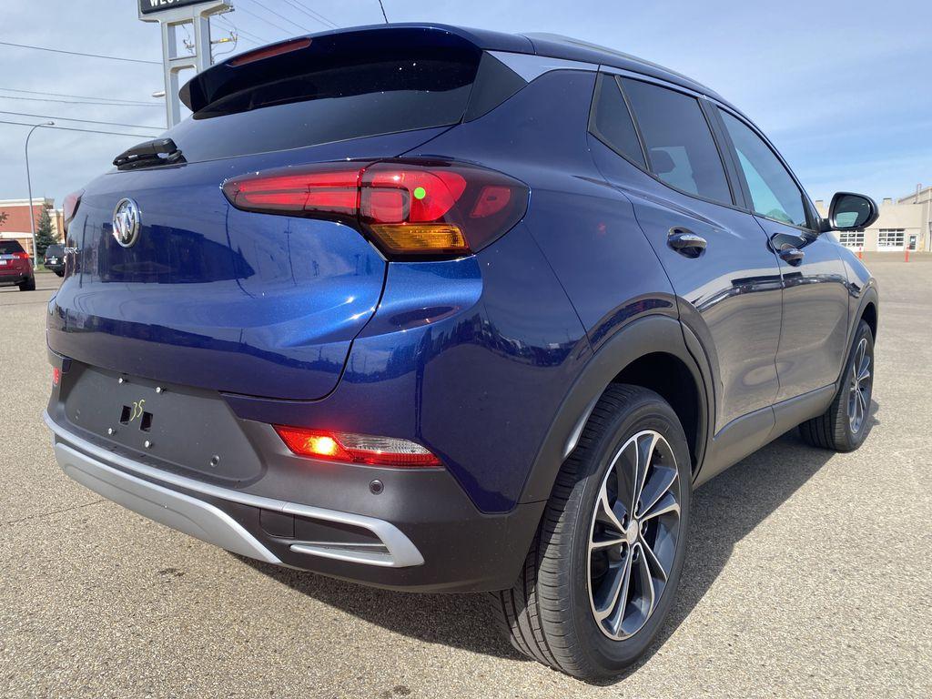 Blue[Sapphire Metallic] 2022 Buick Encore GX Right Rear Corner Photo in Edmonton AB