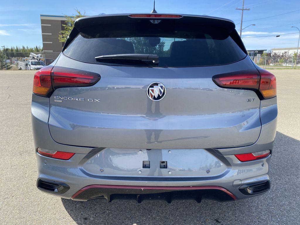 Gray[Satin Steel Metallic] 2022 Buick Encore GX Rear of Vehicle Photo in Edmonton AB