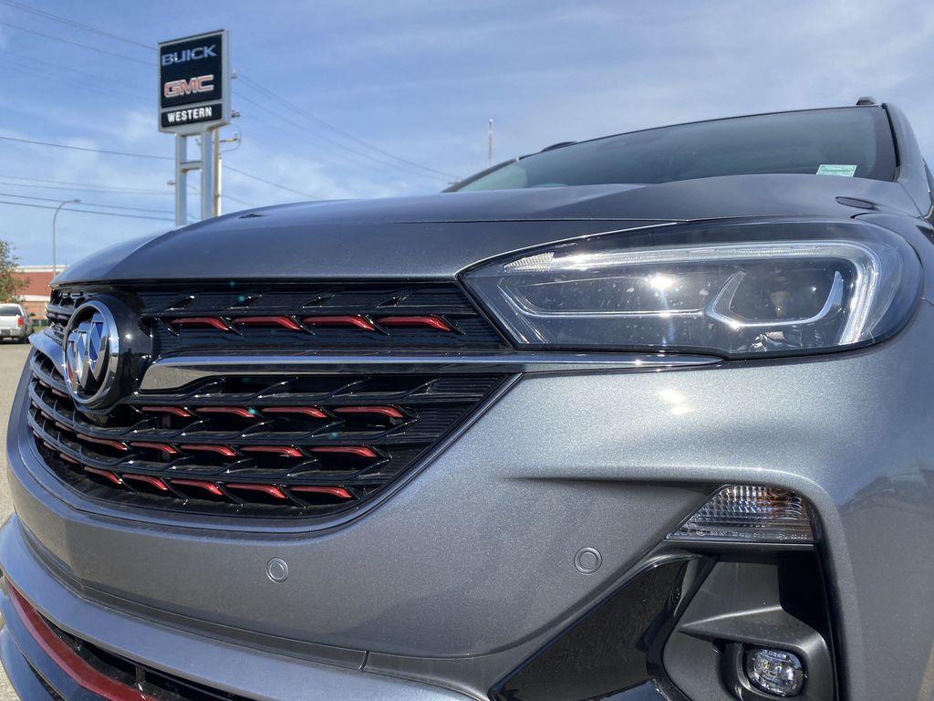 Gray[Satin Steel Metallic] 2022 Buick Encore GX Left Front Head Light / Bumper and Grill in Edmonton AB