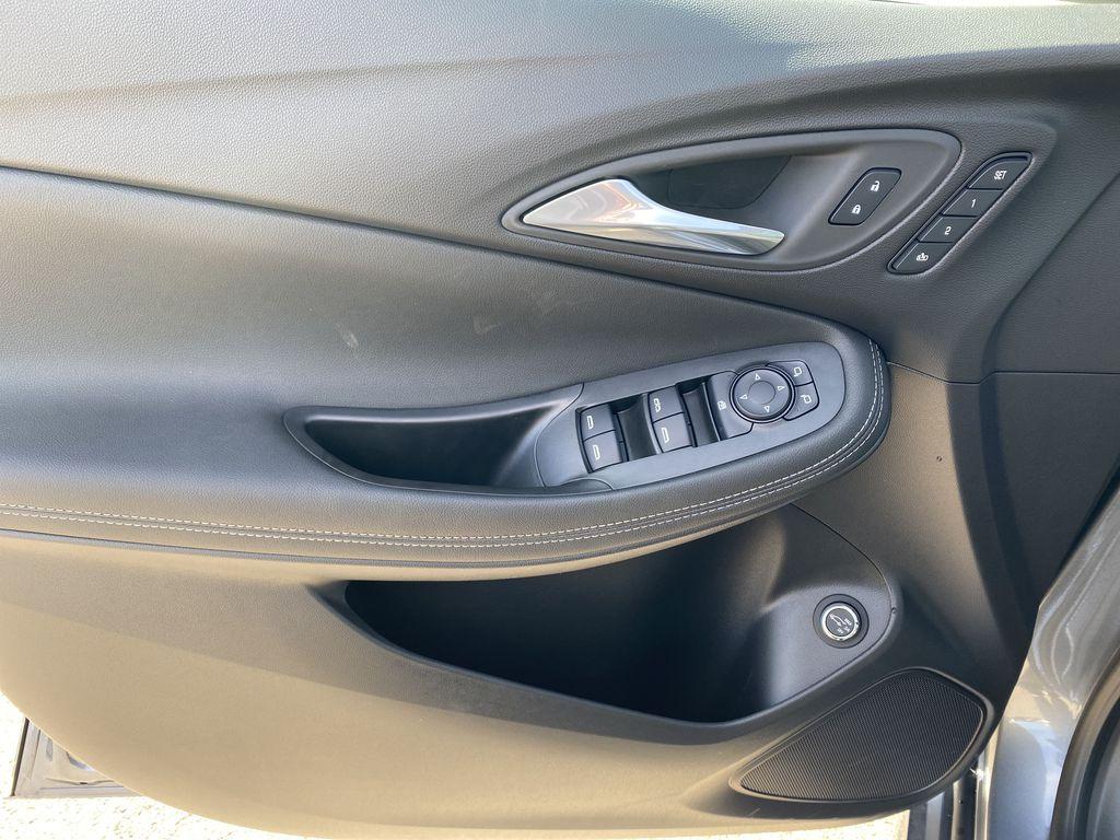 Gray[Satin Steel Metallic] 2022 Buick Encore GX Left Front Interior Door Panel Photo in Edmonton AB