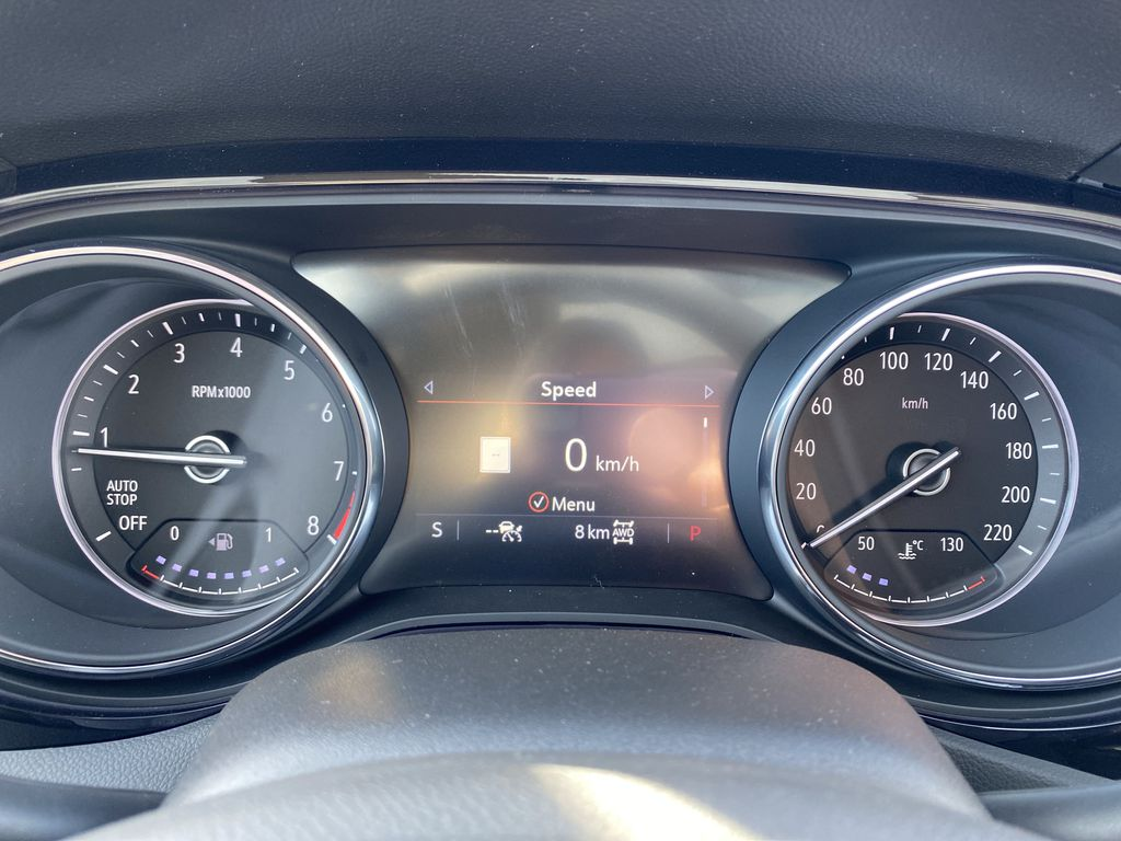 Gray[Satin Steel Metallic] 2022 Buick Encore GX Odometer Photo in Edmonton AB