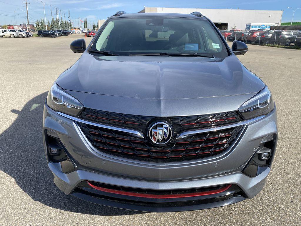 Gray[Satin Steel Metallic] 2022 Buick Encore GX Front Vehicle Photo in Edmonton AB