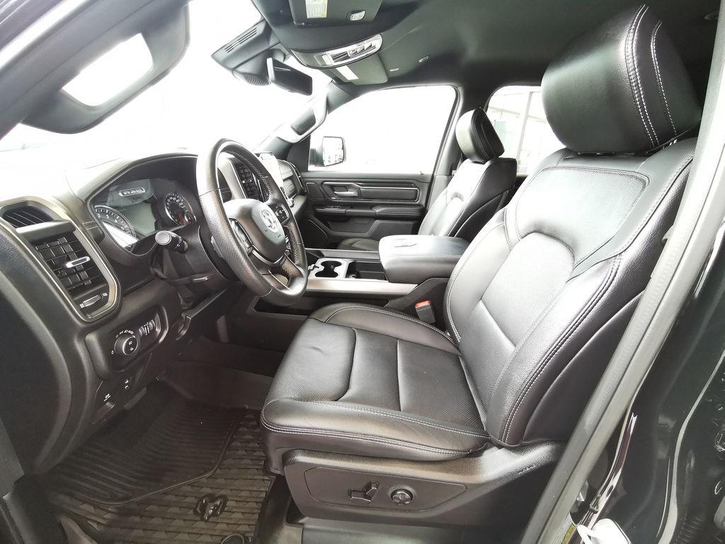 Black[Diamond Black Crystal Pearl] 2021 Ram 1500 Left Front Interior Photo in Edmonton AB