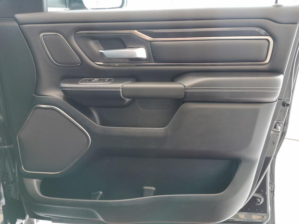Black[Diamond Black Crystal Pearl] 2021 Ram 1500 Right Front Interior Door Panel Photo in Edmonton AB