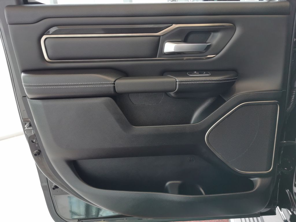Black[Diamond Black Crystal Pearl] 2021 Ram 1500 Left Rear Interior Door Panel Photo in Edmonton AB