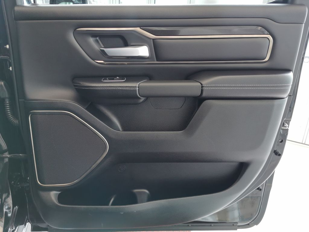 Black[Diamond Black Crystal Pearl] 2021 Ram 1500 Right Rear Interior Door Panel Photo in Edmonton AB