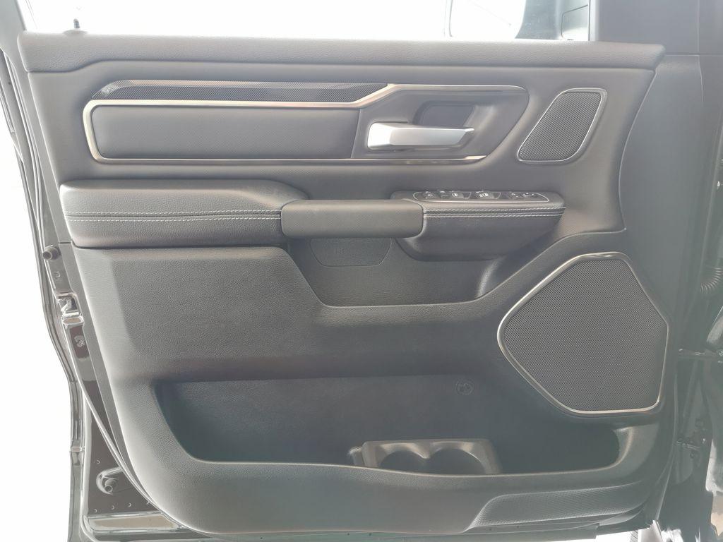 Black[Diamond Black Crystal Pearl] 2021 Ram 1500 Left Front Interior Door Panel Photo in Edmonton AB