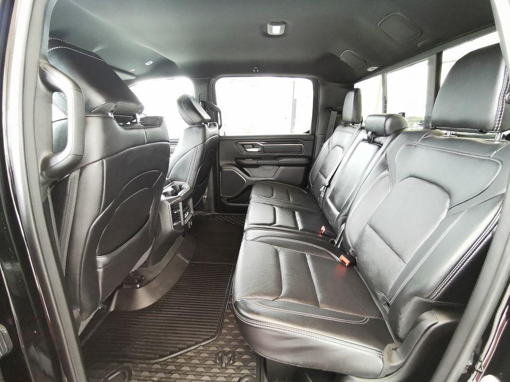 Black[Diamond Black Crystal Pearl] 2021 Ram 1500 Left Side Rear Seat  Photo in Edmonton AB