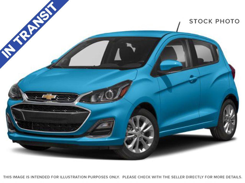 Blue Glow Metal 2022 Chevrolet Spark