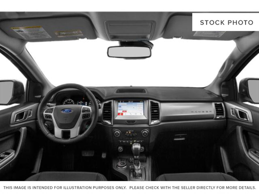 White[Oxford White] 2021 Ford Ranger Central Dash Options Photo in Dartmouth NS