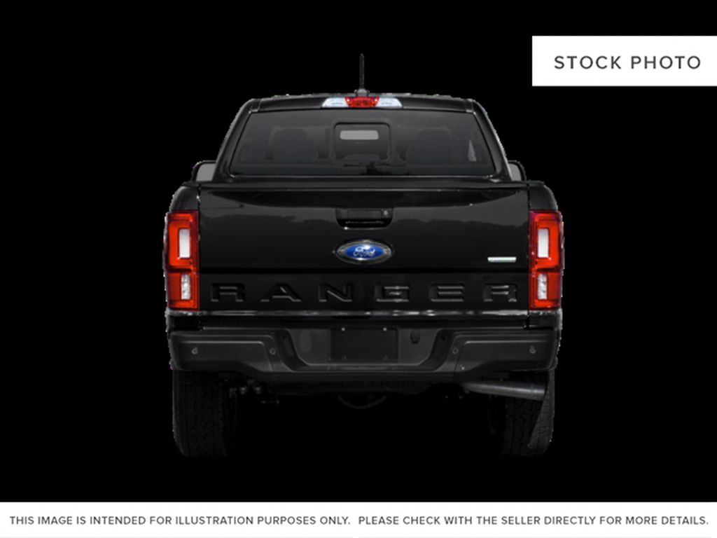 White[Oxford White] 2021 Ford Ranger Rear of Vehicle Photo in Dartmouth NS