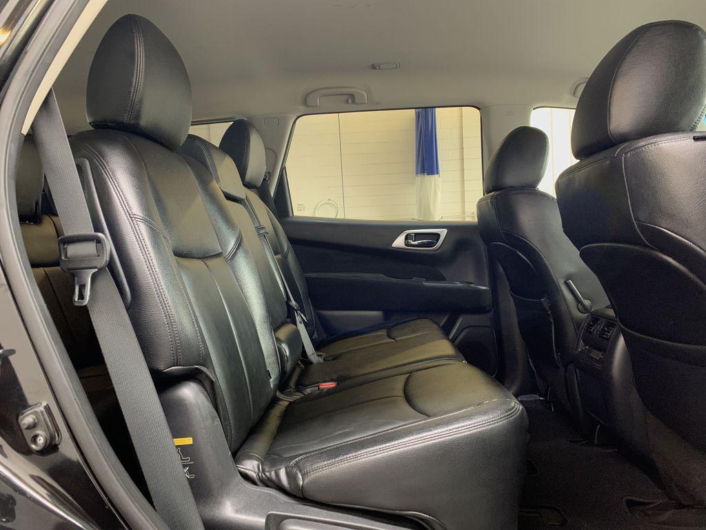 BLACK 2015 Nissan Pathfinder SV - Bluetooth, Remote Start, Backup Cam, 7 Seats, Leather, XM Right Side Rear Seat  Photo in Edmonton AB