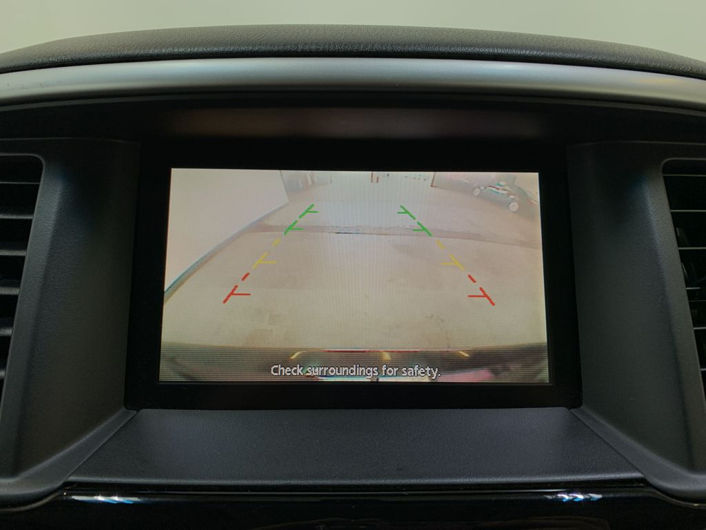 BLACK 2015 Nissan Pathfinder SV - Bluetooth, Remote Start, Backup Cam, 7 Seats, Leather, XM Backup Camera Closeup Photo in Edmonton AB