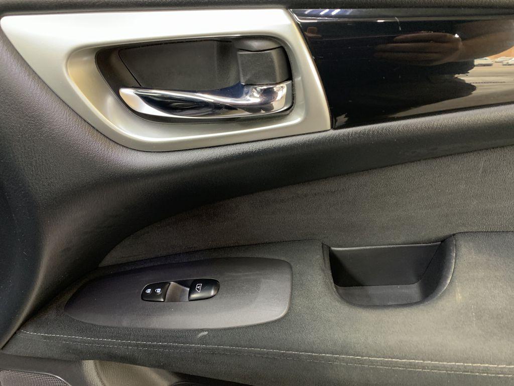 BLACK 2015 Nissan Pathfinder SV - Bluetooth, Remote Start, Backup Cam, 7 Seats, Leather, XM Passenger Front Door Controls Photo in Edmonton AB