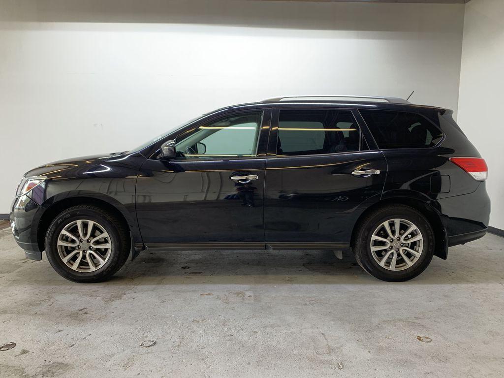 BLACK 2015 Nissan Pathfinder SV - Bluetooth, Remote Start, Backup Cam, 7 Seats, Leather, XM Left Side Photo in Edmonton AB