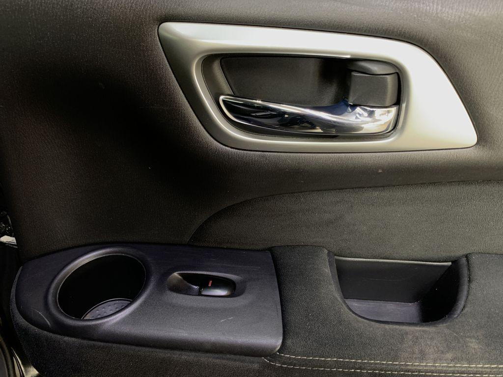 BLACK 2015 Nissan Pathfinder SV - Bluetooth, Remote Start, Backup Cam, 7 Seats, Leather, XM Passenger Rear Door Controls Photo in Edmonton AB
