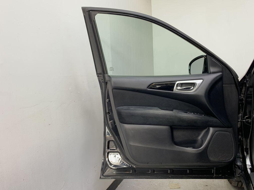 BLACK 2015 Nissan Pathfinder SV - Bluetooth, Remote Start, Backup Cam, 7 Seats, Leather, XM Left Front Interior Door Panel Photo in Edmonton AB