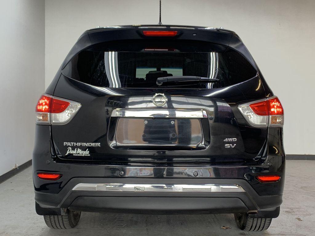 BLACK 2015 Nissan Pathfinder SV - Bluetooth, Remote Start, Backup Cam, 7 Seats, Leather, XM Rear of Vehicle Photo in Edmonton AB