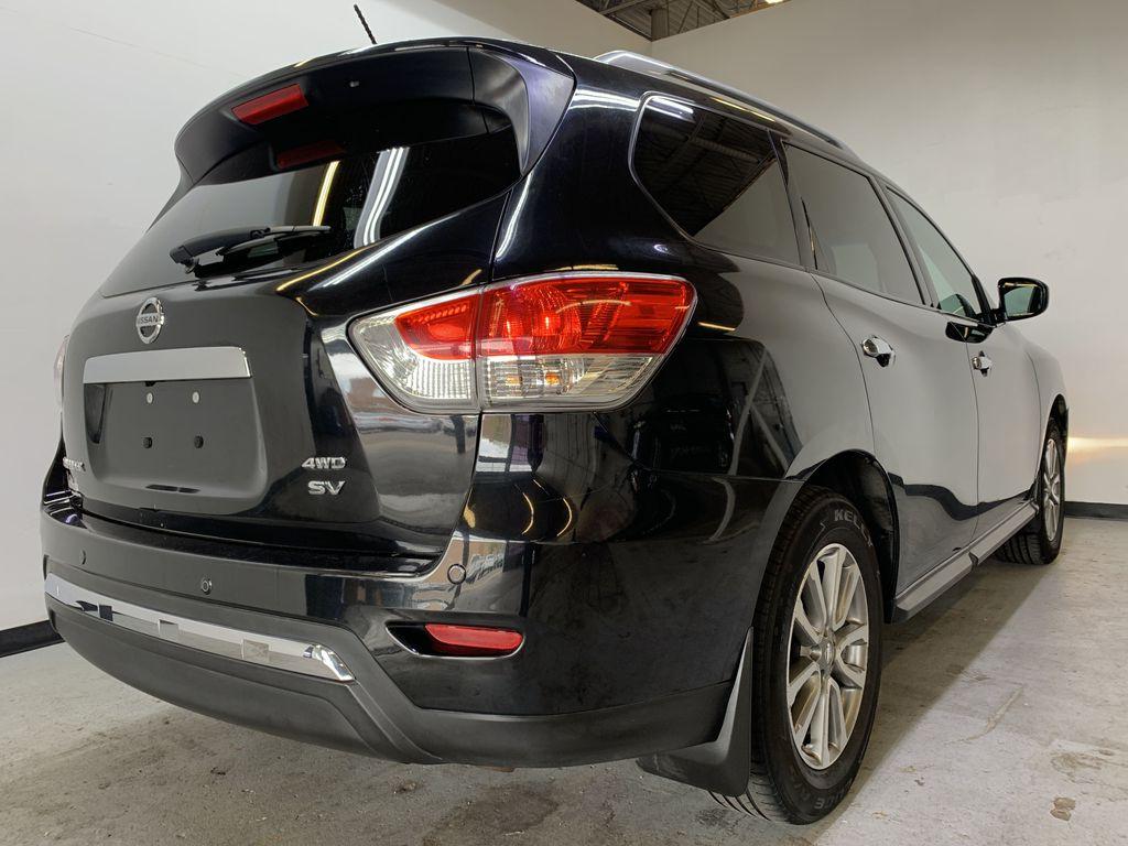 BLACK 2015 Nissan Pathfinder SV - Bluetooth, Remote Start, Backup Cam, 7 Seats, Leather, XM Right Rear Corner Photo in Edmonton AB