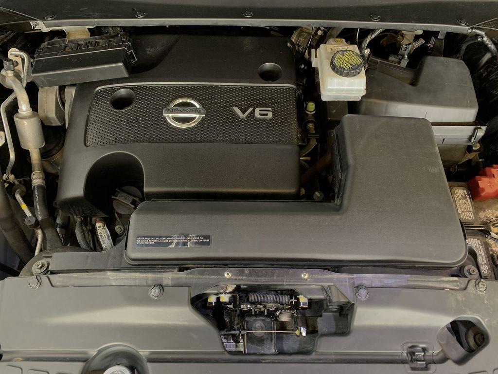 BLACK 2015 Nissan Pathfinder SV - Bluetooth, Remote Start, Backup Cam, 7 Seats, Leather, XM Engine Compartment Photo in Edmonton AB