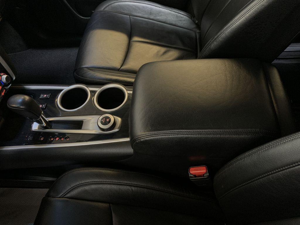BLACK 2015 Nissan Pathfinder SV - Bluetooth, Remote Start, Backup Cam, 7 Seats, Leather, XM Center Console Photo in Edmonton AB