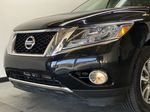 BLACK 2015 Nissan Pathfinder SV - Bluetooth, Remote Start, Backup Cam, 7 Seats, Leather, XM Left Front Head Light / Bumper and Grill in Edmonton AB