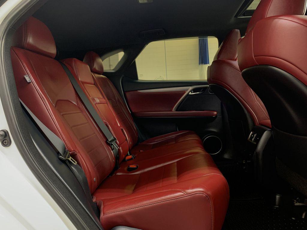 WHITE 2017 Lexus RX 350 F-Sport - Bluetooth, NAV, Remote Start, Backup Cam, Leather, XM Right Side Rear Seat  Photo in Edmonton AB