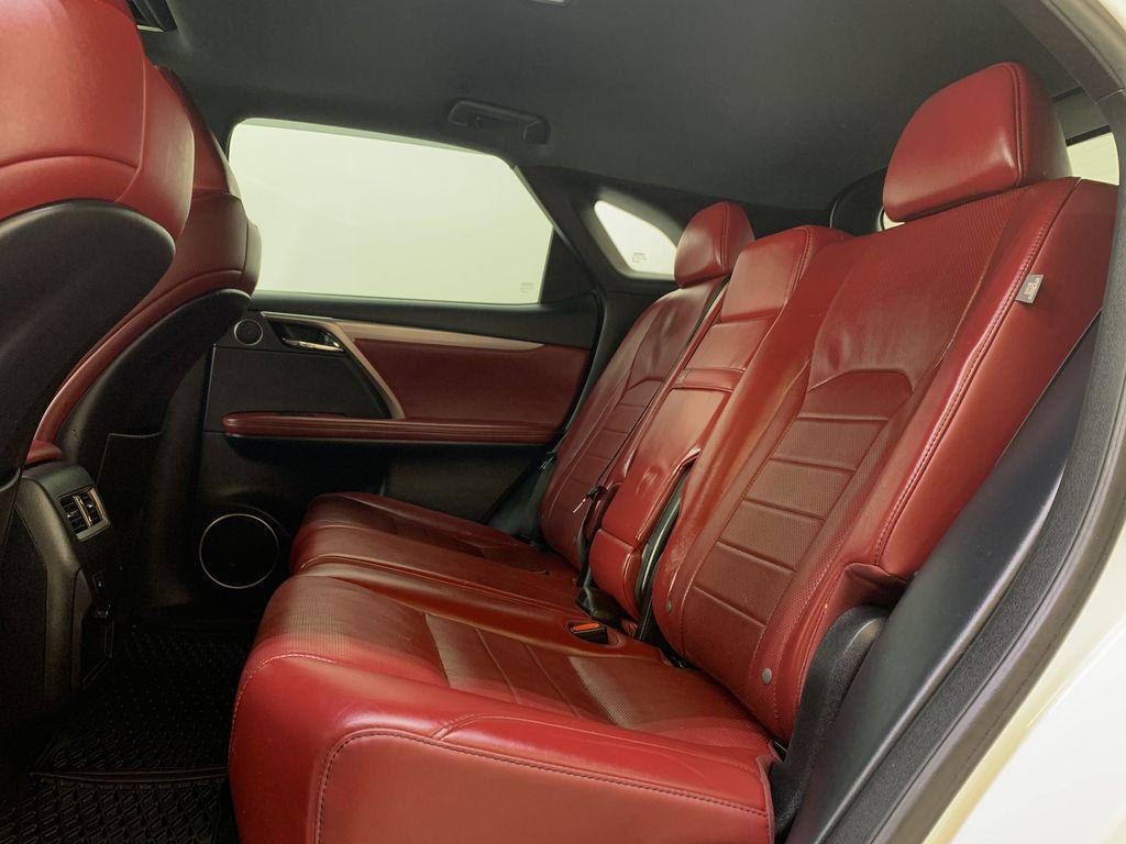 WHITE 2017 Lexus RX 350 F-Sport - Bluetooth, NAV, Remote Start, Backup Cam, Leather, XM Left Side Rear Seat  Photo in Edmonton AB