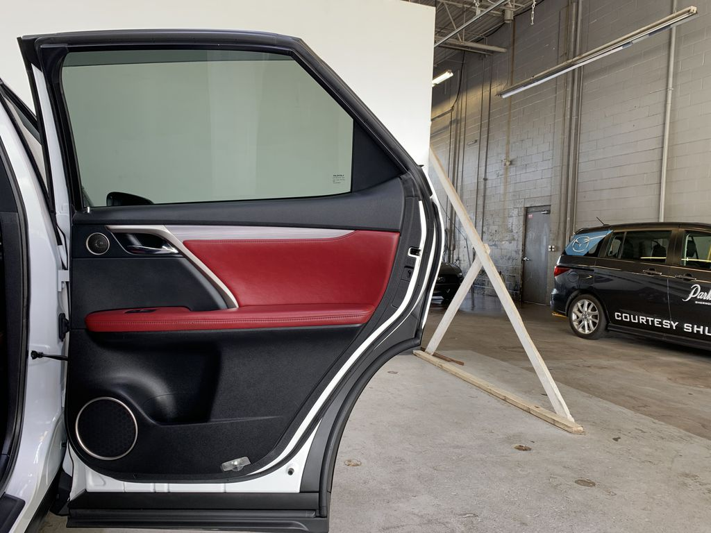 WHITE 2017 Lexus RX 350 F-Sport - Bluetooth, NAV, Remote Start, Backup Cam, Leather, XM Right Rear Interior Door Panel Photo in Edmonton AB