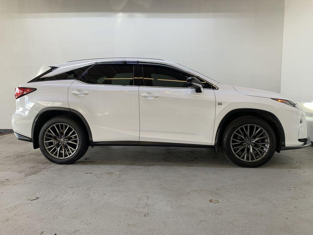 WHITE 2017 Lexus RX 350 F-Sport - Bluetooth, NAV, Remote Start, Backup Cam, Leather, XM Right Side Photo in Edmonton AB