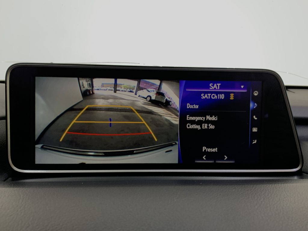 WHITE 2017 Lexus RX 350 F-Sport - Bluetooth, NAV, Remote Start, Backup Cam, Leather, XM Backup Camera Closeup Photo in Edmonton AB