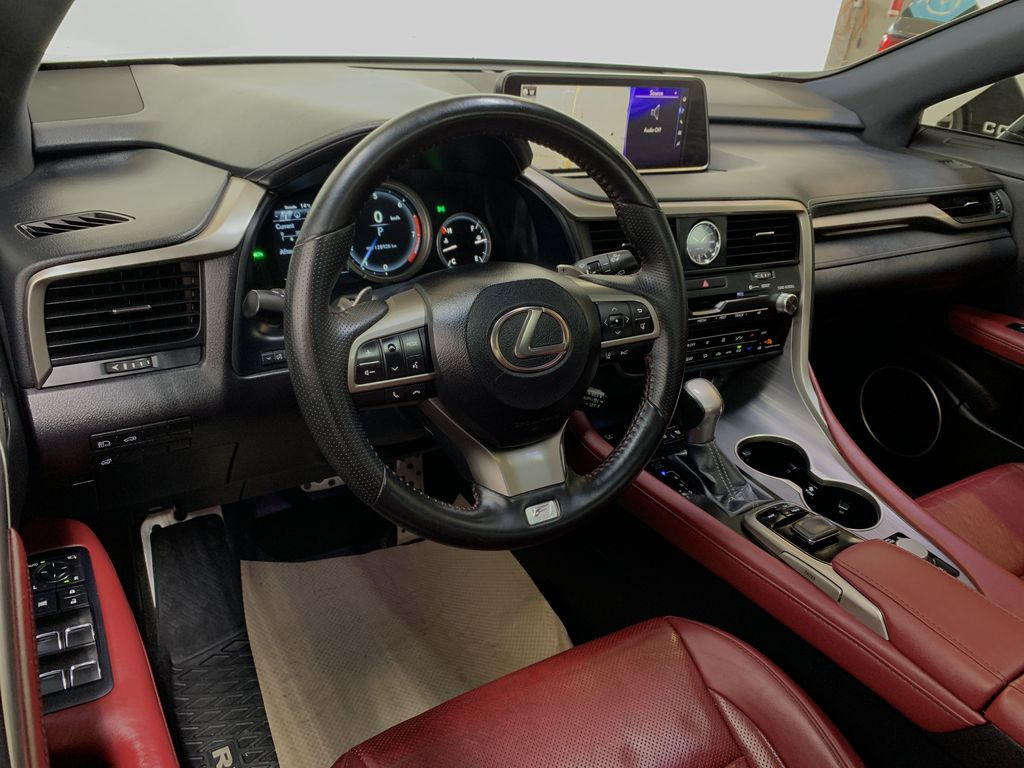 WHITE 2017 Lexus RX 350 F-Sport - Bluetooth, NAV, Remote Start, Backup Cam, Leather, XM Steering Wheel and Dash Photo in Edmonton AB