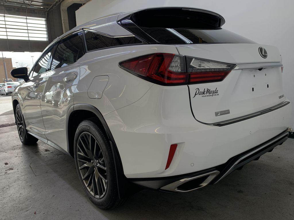 WHITE 2017 Lexus RX 350 F-Sport - Bluetooth, NAV, Remote Start, Backup Cam, Leather, XM Left Rear Corner Photo in Edmonton AB